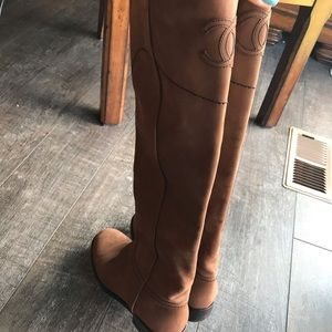 Rehome 4❤️ Chanel Riding Boots